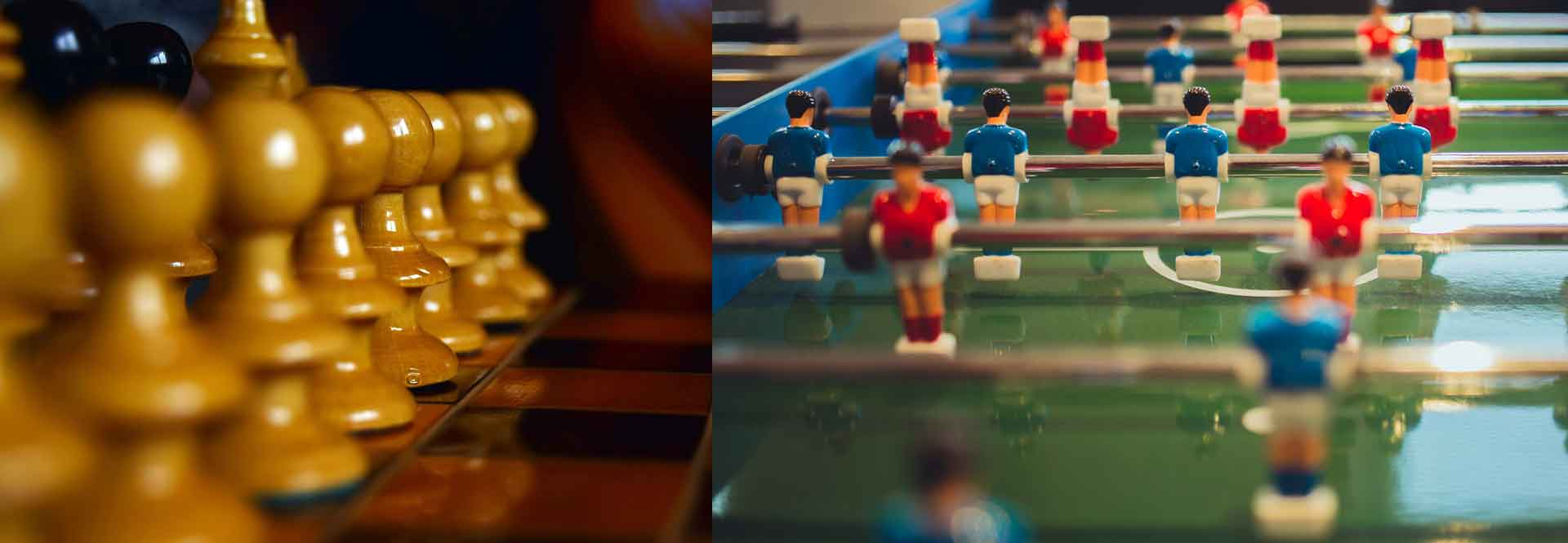 From soccer to chess