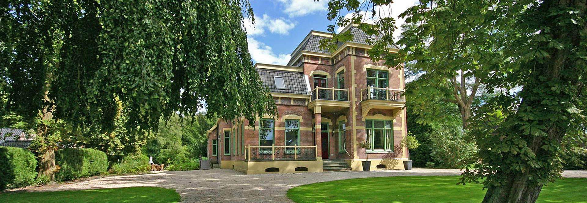 luxe vakantiehuis 20 personen privé bioscoop, sauna en jacuzzi in Drenthe, Nederland